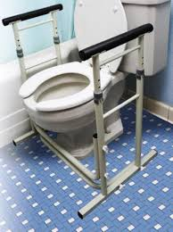 Stand Alone Toilet Support Rails
